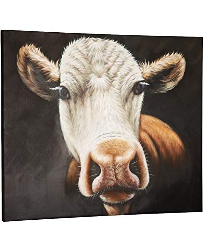 Kokoon DK00860DI Cow Tableau 4 x 120 x 120 cm
