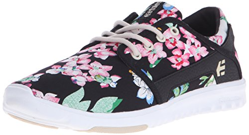 Etnies SCOUT W'S, Chaussures de Skateboard femme Noir (993 / BLACK/FLORAL)