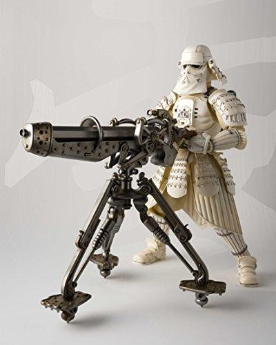 Bandai BAS55074 Kanreichi Ashigaru Snow Trooper Figura 17 Cm Star Wars Meisho Movie Realización, Standard, Multicolor