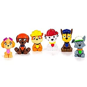 PAW PATROL - Paquete de Juguetes 6 Mini Personajes Set di 6 Multicolor 11
