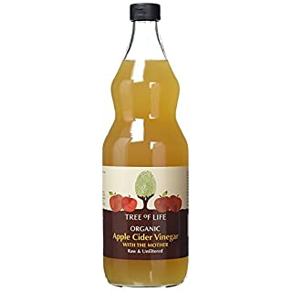 Tree Of Life Organic Apple Cider Vinegar with Mother - Raw & Unfiltered 1 Litre