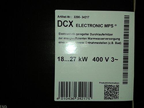 Clage Durchlauf-Erhitzer DCX ELECTRONIC MPS - 2