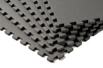 Tunturi Schutzmattenset, schwarz, 120x180, 08BRSCL268