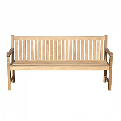 Gartenbank Holz braun 180 cm JAVA