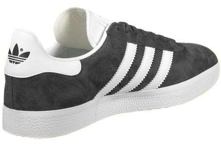 adidas Gazelle, Scarpe Running Uomo Grigio (Dgh Solid Grey/white/gold Metallic)
