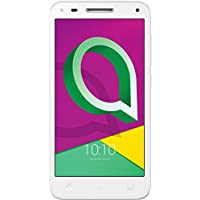 "Alcatel U5 3G - Smartphone de 5"" (Quad-core, 8MPx, 1 GB de RAM, memoria interna 8 GB, Dual SIM, Android), Blanco (White)"