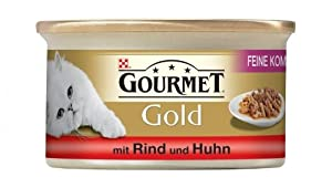 Nest. Gourmet Feine Komposition Rind&Huhn 85g