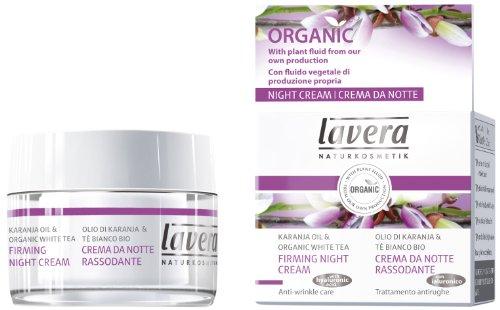 Lavera Faces Firming Night Cream Karanja Oil & Organic White Tea 30ml/1oz - Hautpflege