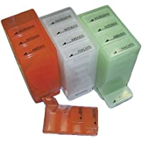 Dr. Junghans Medikamenten Dispenser 7 Tage mit Blindenschrift grün preisvergleich bei billige-tabletten.eu