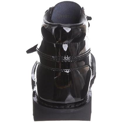 Kickers Women's Kick Hi' Ankle Boots, Black (Black Patent), 8 UK 2