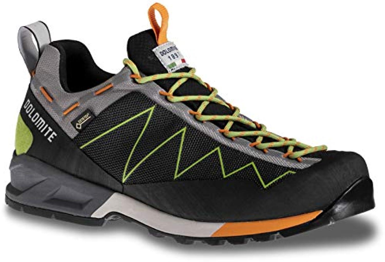 DOLOMITE - Scarpe da Trekking da Uomo Crodarossa Lite GTX, nero Kiwi verde, 12 UK | Diversi stili e stili  | Scolaro/Signora Scarpa