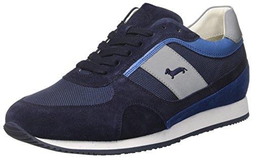 Harmont & Blaine E8040654, A Collo Basso Uomo, Blu (Navy/Blue), 43 EU