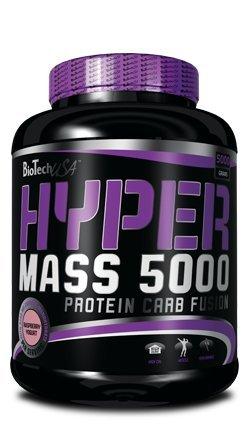 Biotech USA Hyper Mass 5000 Himbeere-Joghurt, 1er Pack (1 x 5 kg)