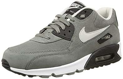 Nike Air Max 90 Leather Schuhe grey-night silver-black-white - 47,5