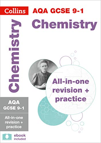 Grade 9-1 GCSE Chemistry AQA All-in-One Complete Revision and Practice (with free flashcard download) (Collins GCSE 9-1 Revision)