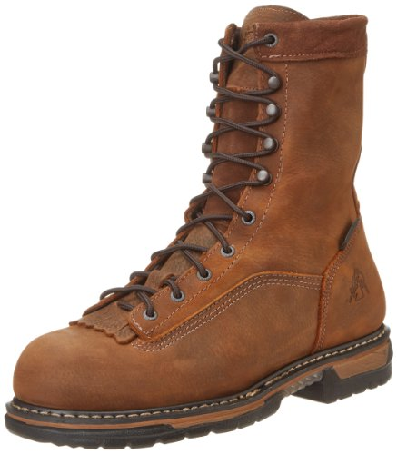 Rocky Mens Ironclad Steel Toe Waterproof Work Boot -