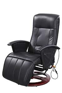 Miadomodo poltrona relax massaggiante riscaldante con for Poltrona massaggiante amazon