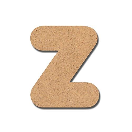 Canevas pour enfant Loisirs créatifs - Lettre en bois 7 cm Z