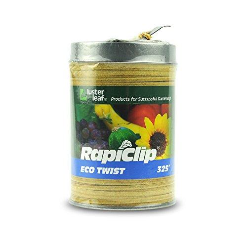 Luster Leaf Rapiclip natur biologisch abbaubar Eco Twist in Spender können–325Fuß 406