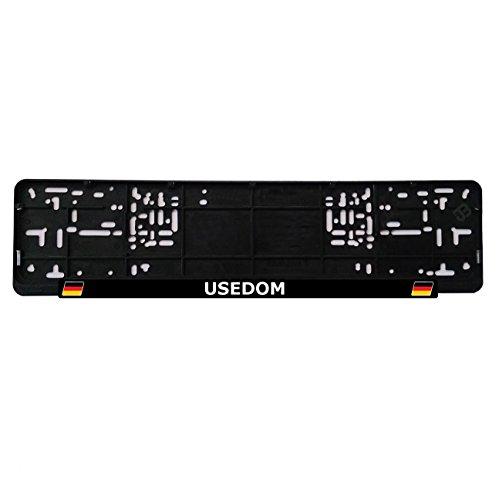 Preisvergleich Produktbild JOllify USEDOM Nummernschildbefestigung Kennzeichenhalter - Anzahl: 1 Stück - Design: Deutschland Flagge