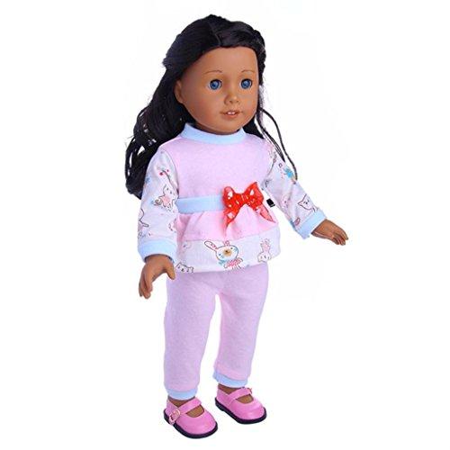 Puppenbekleidung, Outfits für 46 cm