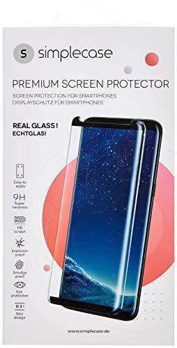 Simplecase Panzerglas passend zu Sony Xperia XZ , Premium Bildschirmschutz , Schutz durch Extra Härtegrad 9H , Case Friendly , Echtglas / Verb&glas / Panzerglasfolie , Transparent - 2 Stück