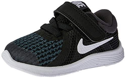 Nike Unisex Baby Revolution 4 (TDV) Hausschuhe, Schwarz (Black/White/Anthracite 006), 22 EU