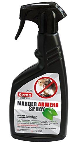 KEMO Marder-Abwehrspray Z100, 500ml Konzentrat