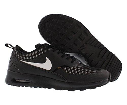 Nike Wmns Nike Air Max Thea, Chaussures pour le sport et les loisirs en extérieur femme Noir et blanc