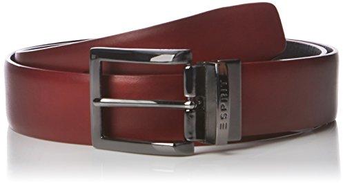 ESPRIT 096EA2S001, Cintura Uomo, Rosso (GARNET RED), Medium (Taglia Produttore: 85)