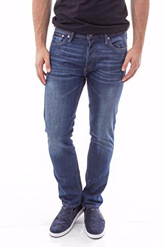 JACK JONES - Herren slim fit jeans 12116405 tim jjorigianal Blau