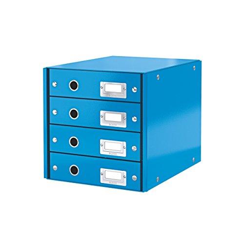 Leitz 60490036 Cassettiera, Blu