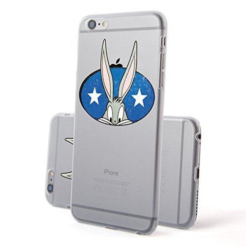 Hardcase Looney Tunes Bugs Bunny Série 1 - What's en haut Doc, Iphone 7 Bugs (bogues) Etoiles
