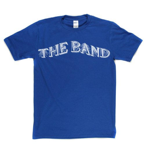 The Band Classic Rock Groupie Bands Tee T-shirt Königsblau