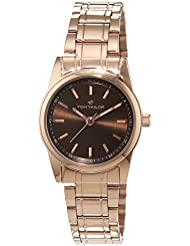 TOM TAILOR Watches Damen-Armbanduhr Analog Quarz Edelstahl beschichtet 5414304