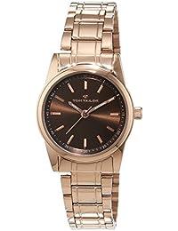 TOM Tailor de relojes mujer-reloj analógico de cuarzo chapado en acero inoxidable 5414304