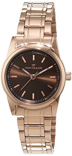 Tom Tailor - 5414304 - Montre Femme - Quartz - Analogique - Bracelet Acier Inoxydable Or et Rose