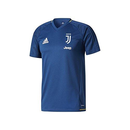 Juventus FC trikot training blau Adidas 2017/18 - 05 - M, Blau (Juventus Training Turin)