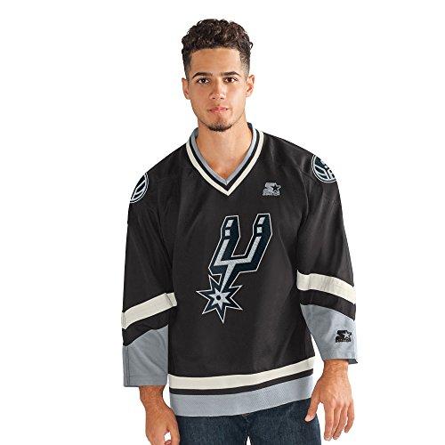 NBA Legend Hockey Jersey, schwarz, Klein -