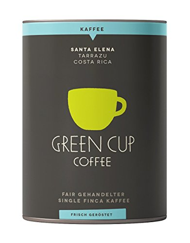 Green Cup Coffee Kaffee Santa Elena - der Hochlandkaffee aus Costa Rica - sortenreine Bio Bohnen in...