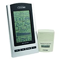 ClimeMET CM9088 New & Improved Digital Wireless Weather Station Now with Moon Phase, Sunrise & Sunset Times 2