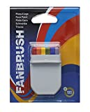 Rainbow FanBrush Face Paint for Gay Pride Celebrations