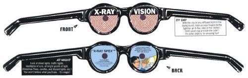 """Röntgenbrille"" X-Ray Spex, Spaßbrille (X-Ray Vision, Partybrille)"
