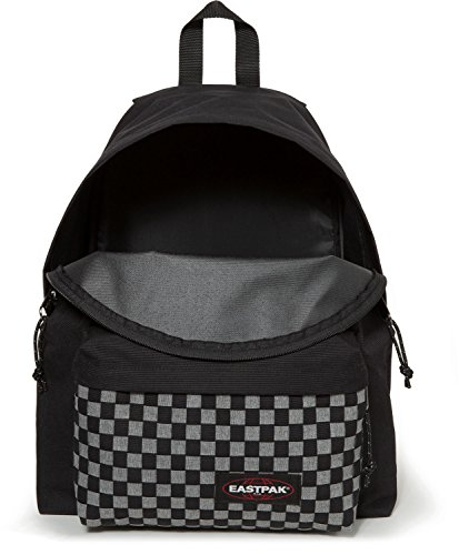 Eastpak Padded Pakr Polyamide,Polyester Blue,Brown,Grey,Red backpack - Backpacks (Polyamide, Polyester, Blue, Brown, Grey, Red, Monotone, 35.6 cm (14), Front pocket, Zipper) Grigio Weave