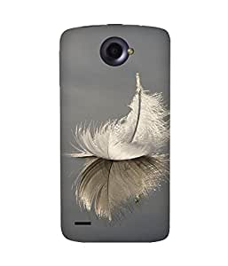 Feather Upside Down Lenovo S920 Case
