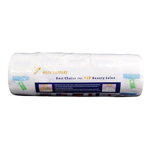Cou Tissu Bande en Papier en Rouleau Jetable Pro pour Salon de Beauté Coiffeurs