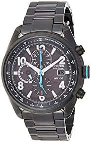 Citizen Mens Solar Powered Watch, Analog Display and Stainless Steel Strap CA0365-54E