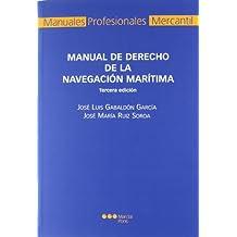 Manual de derecho de la navegación marítima