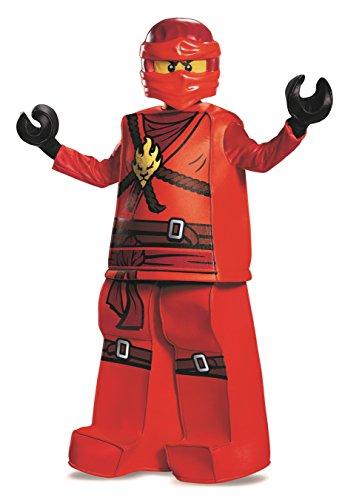 Imagen de lego ninjago kai prestige  disfraz de lego, talla mediana alternativa