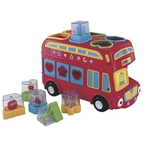 Early Learning Centre Jouet D'éveil Bus Trieur De Forme